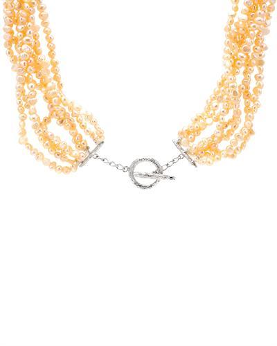 De Dears 黛狄尔斯 925银48.5克拉天然珍珠项链