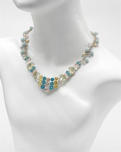 De Dears 黛狄尔斯 925银32.1克拉天然天然珍珠项链