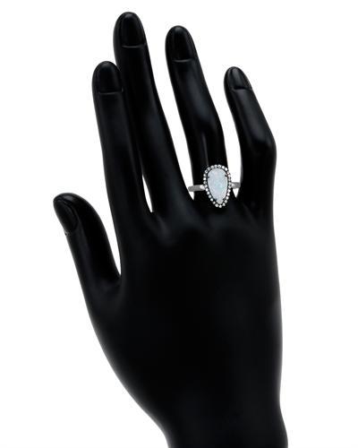 De Dears 黛狄尔斯 925银蛋白石戒指