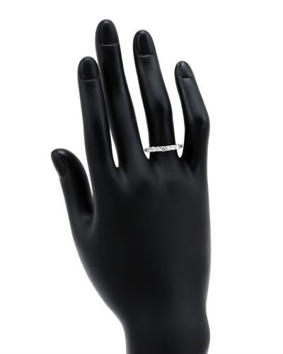 De Dears 黛狄尔斯 14K白金0.35克拉纯天然钻石戒指