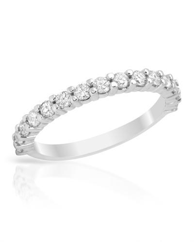 De Dears 黛狄尔斯 14K白金0.68克拉纯天然钻石戒指