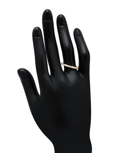 De Dears 黛狄尔斯 14K黄金0.63克拉纯天然钻石戒指
