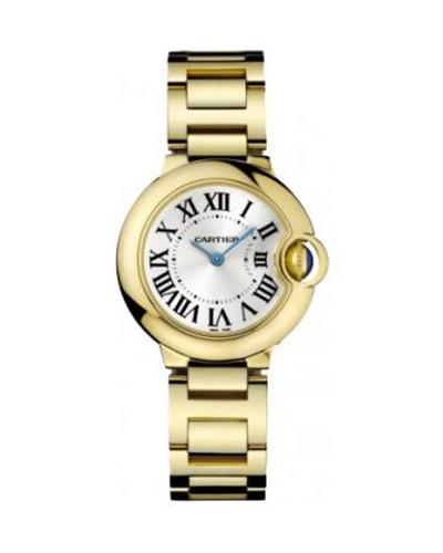 Cartier 卡地亚 Ballon Bleu 18K黄金女士石英腕表 69001Z2