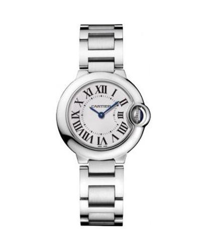 Cartier 卡地亚 Ballon Bleu 不锈钢女士石英腕表 69010Z4