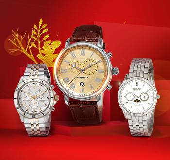 名品腕表,礼亮新年,全场4折起,领券最高立减1500元!